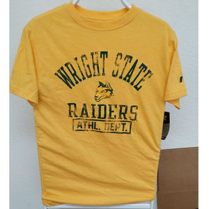 WRIGHT STATE University T-shirt Raiders wolf logo